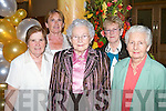 Saying Bon-voyage to Fr Dan on Tuesday l-r: Margaret O'Shea, St John's Park, Maureen Guerin, Hawley Park, Babs McElligott, Oakpark, Kathleen Hennessy, Hawley Park and Josie O'Brien, Oakpark.   Copyright Kerry's Eye 2008