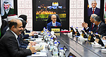Palestinian Prime Minister, Rami Hamdallah, chairs a meeting of council ministery, in the West Bank city of Ramallah, on March 5, 2019. Photo by Prime Minister Office