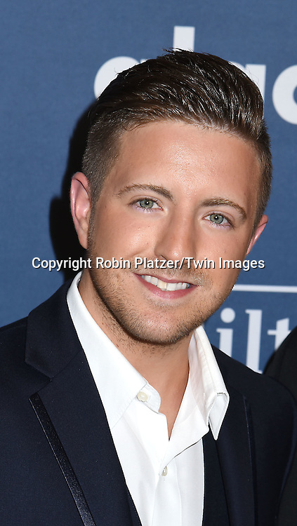 Billy Gilman attends the 27th Annual GLAAD Media Awards on May 14, 2016 at the Waldorf Astoria Hotel in New York City, New York, USA.<br /> <br /> photo by Robin Platzer/Twin Images<br />  <br /> phone number 212-935-0770