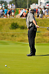 30 August 2009: Paul Goydos on the  2nd green during the final round of The Barclays PGA Playoffs at Liberty National Golf Course in Jersey City, New Jersey.