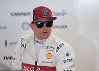Kimi RÄIKKÖNEN (FIN) (ALFA ROMEO RACING) during the Bahrain Grand Prix at Bahrain International Circuit, Sakhir,  on 31 March 2019. Photo by Vince  Mignott.