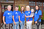 WALK: Taking part in the Greg Moynihan memorial 9km walk in aid of Pieta House in Rathmore on Sunday l-r: Mikey John Moynihan, Gerard Lawlor, Sharon Lawlor, Aine O'Callaghan, Jason O'Callaghan and Amanda Jones.