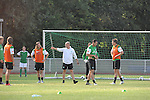 FBL 09/10 Traininglager  Werder Bremen Norderney 2007 Day 02<br /> <br /> Training Samstag nachmittag<br /> <br /> Thomas Schaaf ( Bremen GER - Trainer  COACH) im Gespraech mit Torsten Frings ( Bremen GER #22 )<br /> <br /> Foto &copy; nph (nordphoto)