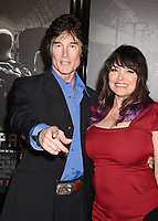 BURBANK, CA - FEBRUARY 05: Actors Ronn Moss (L) and Devin DeVasquez arrive at the premiere of Warner Bros. Pictures' 'The 15:17 To Paris' at Warner Bros. Studios, SJR Theater on February 5, 2018 in Burbank, California.<br /> CAP/ROT/TM<br /> &copy;TM/ROT/Capital Pictures