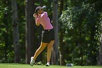 Olivia Mahaffey (a)(NIR) watches her tee shot on 2 during round 1 of the U.S. Women's Open Championship, Shoal Creek Country Club, at Birmingham, Alabama, USA. 5/31/2018.<br /> Picture: Golffile | Ken Murray<br /> <br /> All photo usage must carry mandatory copyright credit (&copy; Golffile | Ken Murray)