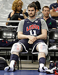 USA's Kevin Love during training session.July 23,2012(ALTERPHOTOS/Acero)