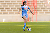 Bridgeview, IL, USA - Sunday, May 29, 2016: Chicago Red Stars defender Katie Naughton (5) during a regular season National Women's Soccer League match between the Chicago Red Stars and Sky Blue FC at Toyota Park. The game ended in a 1-1 tie.