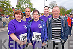 Taking part in the 2012 10km Jack and Jill Run in Kenmare on Saturday were the Sneem Contingent. .Back L-R Stephen Casey and Mags Brady O'Brien .Front L-R Angela O'Regan, Maura O'Brien and Jerry O'Brien. .(Need to check one name)