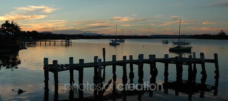 Hastings Rivers Sunset,Hibbard,Port Macquarie. NSW