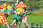 John Sheahan Gveeveguilla Hugh Curran N'town.Gneeveguilla defeated Newcestown 0-12 to 1-8 in the Munster Intermediate Club Football Semi Final at Gneeveguilla on Sunday.