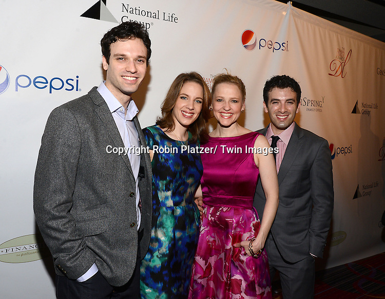 cast of Beautiful attends the 80th Annual Drama League Awards Ceremony and Luncheon on May 16, 2014 at the Marriot Marquis Hotel in New York City, New York, USA.