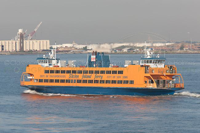 Staten Island Ferry Alice Austen in route from Manhattan to Staten Island.