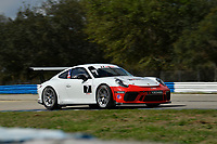Porsche GT3 Cup Series<br /> Sebring February Test<br /> Sebring International Raceway, Sebring, Florida, USA<br /> Wednesday 21 February 2018<br /> #7 Wright Motorsports, Porsche 991 / 2017, GT3P: Maxwell Root<br /> World Copyright: Richard Dole<br /> LAT Images