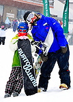 Emma Shapera and Crested Butte Snowboard instructor.Michele Lohman