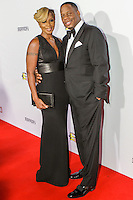 BEVERLY HILLS, CA, USA - OCTOBER 11: Mary J. Blige, Kendu Isaacs arrive at Ferrari's 60th Anniversary In The USA Gala held at the Wallis Annenberg Center for the Performing Arts on October 11, 2014 in Beverly Hills, California, United States. (Photo by Rudy Torres/Celebrity Monitor)