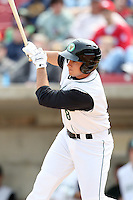 April 11 2010: Anthony Aliotti of the Kane County Cougars at Elfstrom Stadium in Geneva, IL. The Cougars are the Low A affiliate of the Oakland A's. Photo by: Chris Proctor/Four Seam Images