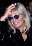 """Penny Marshall attends Broadway Opening Night of  """"The Capeman"""" at the Marquis theatre on January 30, 1998 in New York City."""