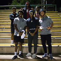 STANFORD, CA - August 24, 2018: Fans, Trent Irwin, Frank Buncom at Laird Q. Cagan Stadium. The Stanford Cardinal defeated the USF Dons 5-1.