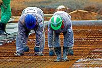 Trabalho em construção civil no município de Conde. Bahia. 2013. Foto de Alf Ribeiro.