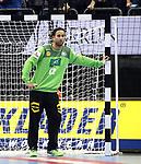 12.01.2019, Mercedes Benz Arena, Berlin, GER, Germany vs. Brazil, im Bild Silvio Heinevetter (GER #12)<br /> <br />      <br /> Foto &copy; nordphoto / Engler