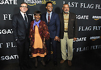 www.acepixs.com<br /> <br /> November 1 2017, LA<br /> <br /> (L-R) Actors Steve Carell, Cicely Tyson, J. Quinton Johnson and Laurence Fishburne arriving at the premiere of 'Last Flag Flying' at the DGA Theater on November 1, 2017 in Los Angeles, California<br /> <br /> By Line: Peter West/ACE Pictures<br /> <br /> <br /> ACE Pictures Inc<br /> Tel: 6467670430<br /> Email: info@acepixs.com<br /> www.acepixs.com