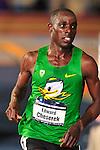 11 MAR 2016:   Edward Cheserek of the University of Oregon wins the Men's 5000M Run during the Division I Men's Indoor Track & Field Championship held at the Crossplex in Birmingham, Al. Tom Ewart/NCAA Photos