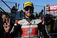 16th November 2019; Circuit Ricardo Tormo, Valencia, Spain; Valencia MotoGP, Qualifying Day; Moto2 rider Stefano Manzi (MV Augusta Foward) 3rd on pole - Editorial Use