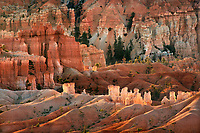 730750174 sunrise lights up the hoodoos below sunrise point in bryce canyon national park utah united states