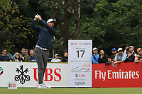 Paul Peterson (USA) on the 17th tee during Round 3 of the UBS Hong Kong Open, at Hong Kong golf club, Fanling, Hong Kong. 25/11/2017<br /> Picture: Golffile | Thos Caffrey<br /> <br /> <br /> All photo usage must carry mandatory copyright credit     (© Golffile | Thos Caffrey)