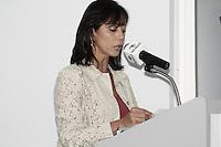 ATENCAO EDITOR: FOTO EMBARGADA PARA VEICULOS INTERNACIONAIS - SAO PAULO, 08 DE OUTUBRO DE 2012 - AGENDA GERALDO ALCKMIN -  secretária estadual da Justiça, Eloisa Arruda O governador Geraldo Alckmin lança a Rede de Atencao à Mulher Vítima de Violência Doméstica e Sexual no Estado de São Paulo e assina o Decreto de Criação da Coordenação de Políticas para a Mulher, no Hospital Perola Byington, região central da Capital Paulista, na manha dessa segunda-feira, 08  - - FOTO LOLA OLIVEIRA - BRAZIL PHOTO PRESS