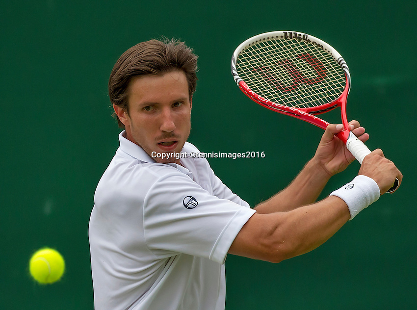 London, England, 28 june, 2016, Tennis, Wimbledon, Igor Sijsling (NED)<br /> Photo: Henk Koster/tennisimages.com