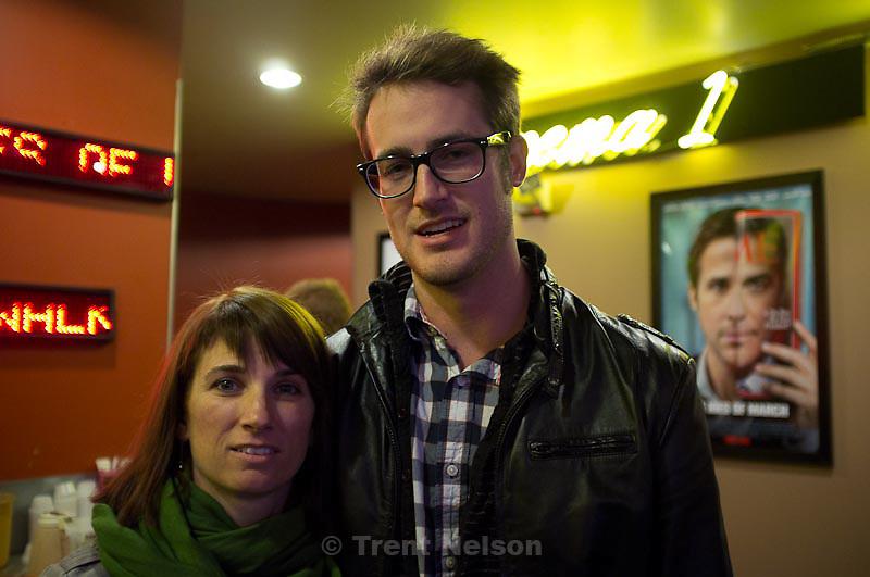 Erik Daenitz at the premiere of a film he was DP on, in Salt Lake City, Utah, Sunday, November 20, 2011.