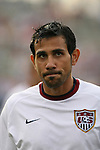 28 May 2006,  Pablo Mastroeni.The USA Mens National soccer team defeated Latvia by a score of 1-0 in an international friendly match at Rentschler Field in East Hartford, Connectiticut in their final preparationi for competition at World Cup 2006 in Germany.