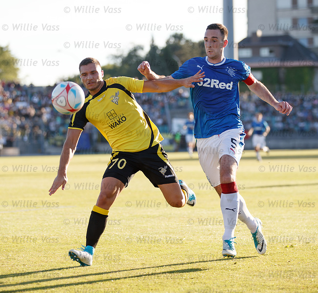 Lee Wallace and Olivier Thill