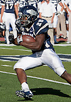 September 15, 2012: Nevada Wolf Pack running back Stefphon Jefferson  runs against the Northwestern State Demons during their NCAA football game played at Mackay Stadium on Saturday afternoon in Reno, Nevada.