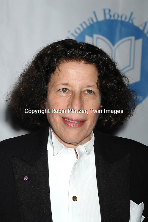 Fran Lebowitz..at The National Book Awards on November 14, 2007 at ..the Marriott Marquis Hotel in New York, The event was hosted by Fran Lebowitz...Robin Platzer, Twin Images......