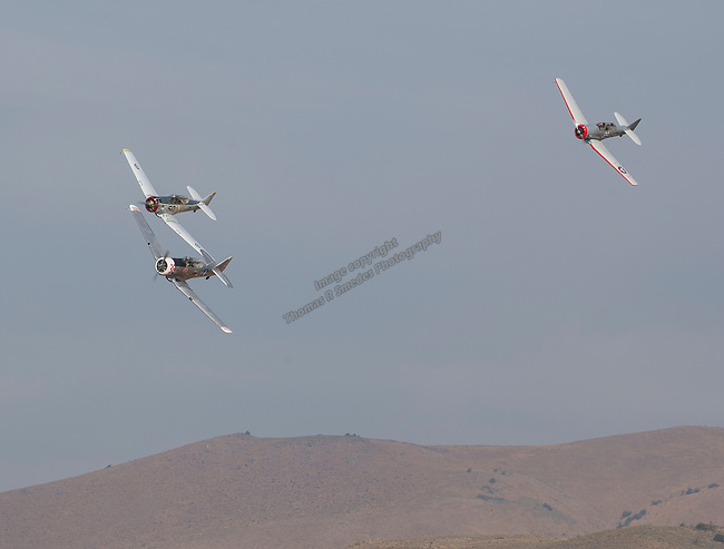 A photograph taken during the National Championship Air Races in Reno, Nevada on Sunday, September 17, 2017.