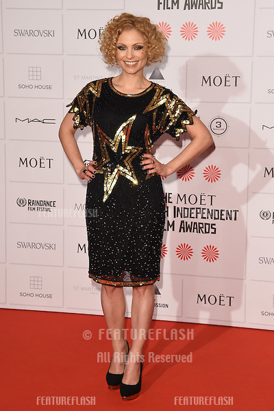 Myanna Buring arriving for the British Independent Film Awards 2014 at Old Billingsgate, London. 07/12/2014 Picture by: Steve Vas / Featureflash