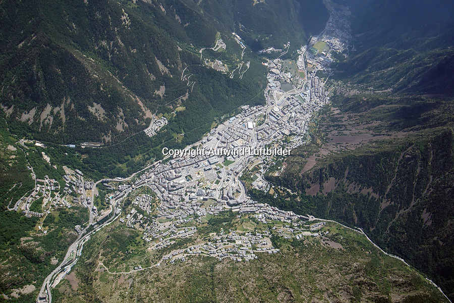 Andorra la Vella: EUROPA,  ANDORRA  27.06.2018: Andorra la Vella