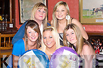 18TH BIRTHDAY: Kristine Moriarty, Oakpark, Tralee, celebrated her 18th birthday in Kirby's Brogue Inn, Tralee, on Thursday night with her best friends Andrea Moriarty, Jennifer Wall, Leanne O'Shea and Grace Fitzmaurice.   Copyright Kerry's Eye 2008