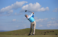 Cole Betteridge during Round Two of the West of England Championship 2016, at Royal North Devon Golf Club, Westward Ho!, Devon  23/04/2016. Picture: Golffile | David Lloyd<br /> <br /> All photos usage must carry mandatory copyright credit (&copy; Golffile | David Lloyd)