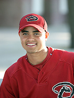 Miguel Pena - Arizona Diamondbacks - 2010 Instructional League.Photo by:  Bill Mitchell/Four Seam Images..