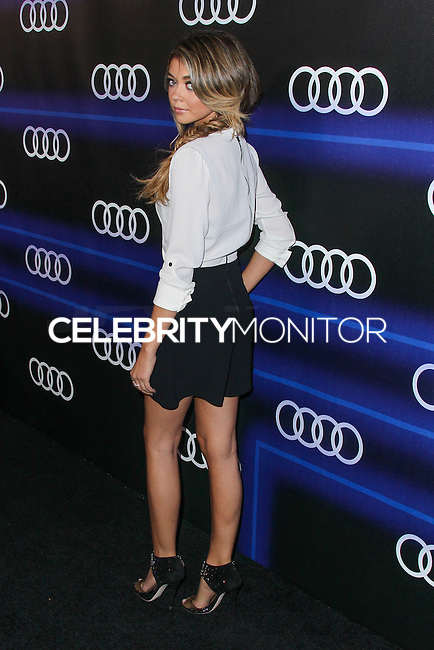 WEST HOLLYWOOD, CA, USA - AUGUST 21: Sarah Hyland arrives at the Audi Emmy Week Celebration held at Cecconi's Restaurant on August 21, 2014 in West Hollywood, California, United States. (Photo by Xavier Collin/Celebrity Monitor)