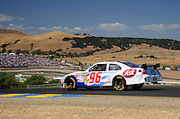 Jun. 21, 2009; Sonoma, CA, USA; NASCAR Sprint Cup Series driver Bobby Labonte during the SaveMart 350 at Infineon Raceway. Mandatory Credit: Mark J. Rebilas-