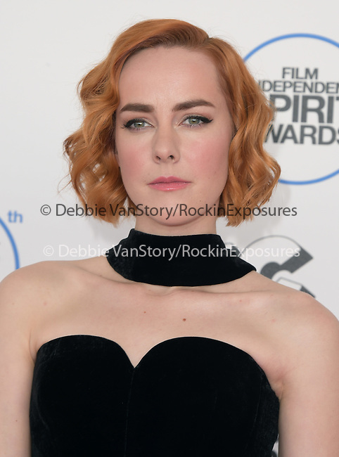 Jena Malone<br />  attends 2015 Film Independent Spirit Awards held at Santa Monica Beach in Santa Monica, California on February 21,2015                                                                               © 2015Hollywood Press Agency