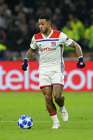 Memphis Depay of Lyon in action during Lyon vs Manchester City, UEFA Champions League Football at Groupama Stadium on 27th November 2018