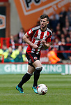 Jake Wright of Sheffield Utd during the English League One match at  Bramall Lane Stadium, Sheffield. Picture date: April 30th 2017. Pic credit should read: Simon Bellis/Sportimage