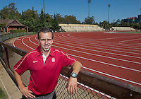 Chris Miltenberg has been named Stanford's Franklin P. Johnson Director of Track & Field and head cross-country coach.Photo taken on Tuesday, September 11, 2012. ( Photo by Norbert von der Groeben )