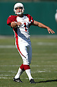 NEIL RACKERS, of the Arizona Cardinals, in action against the Oakland Raiders on October 22, 2006 in Oakland, CA..Raiders win 22-9..Rob Holt / SportPics.