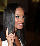 Alicia Keys.arriving for the 2009 White House Correspondents Dinner on May 9, 2009 at the Washingto Hilton in Washington, DC..